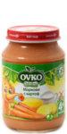 Овко Бебешко пюре /Картоф и морков с мляко/ 190гр. 4м+ 0102